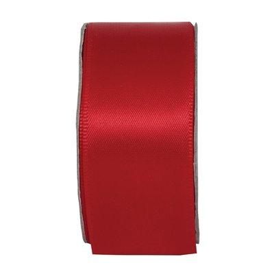 Nastro satinato largo - Radiant Red