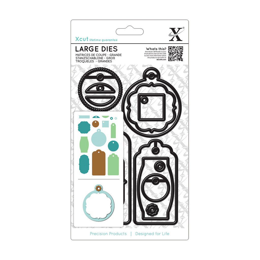 Set fustelle Xcut Large - Gift Tag Set Everyday