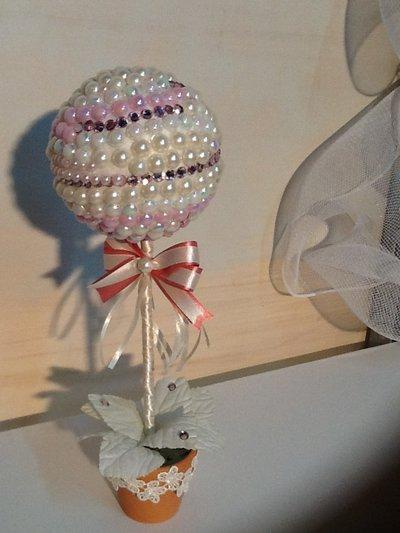 Alberello con perle
