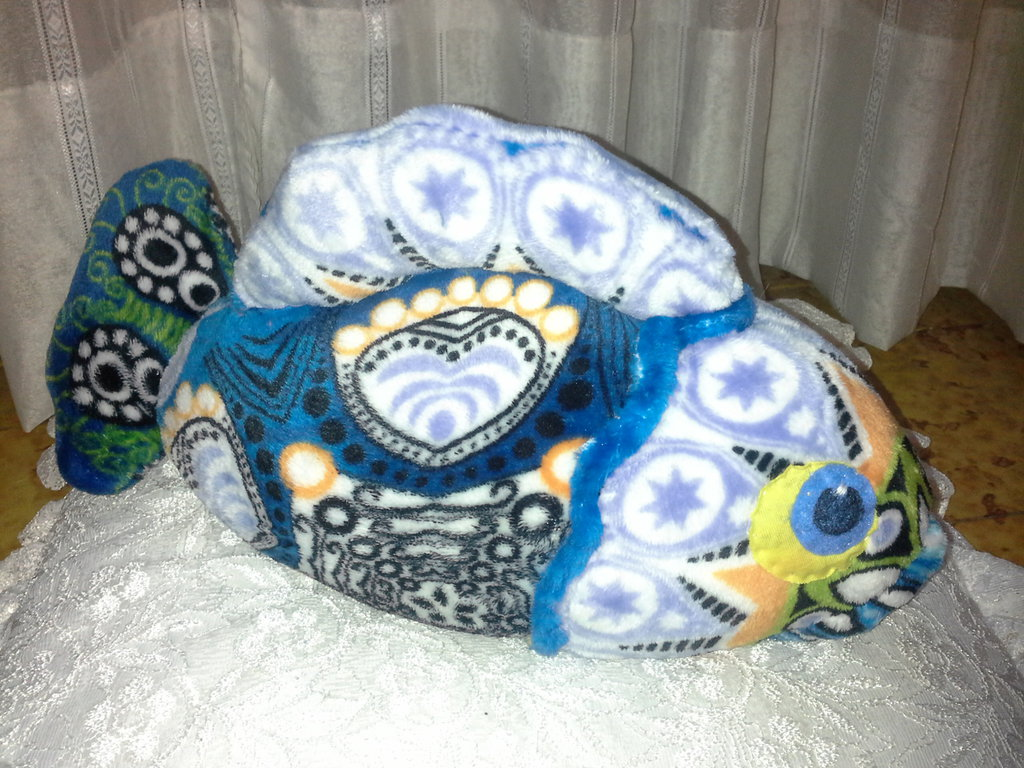 Blu pescione marino