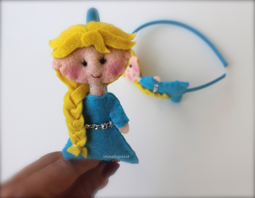 Cerchietto Elsa Frozen