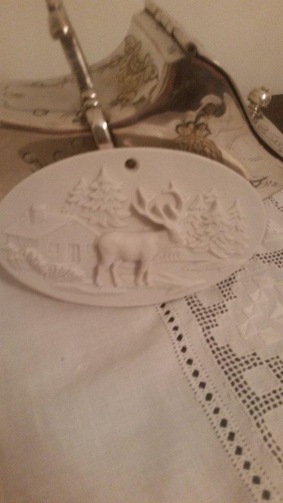 Blasone natalizio renna