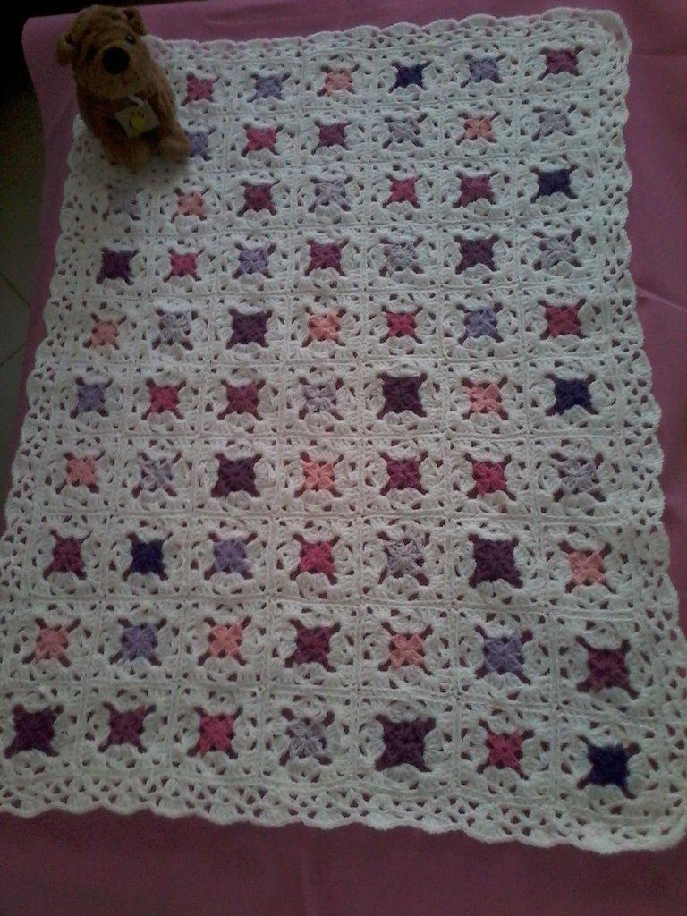 copertina neonata misto lana