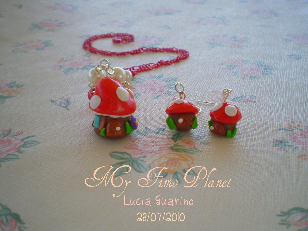 orecchini collezione Smurfs