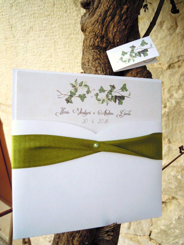 partecipazioni edizione speciale grafica fatta da me !! linea Botanical Illustration
