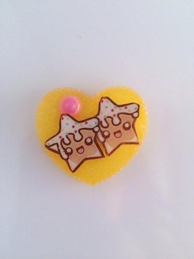 Calamita biscotti stelle kawaii