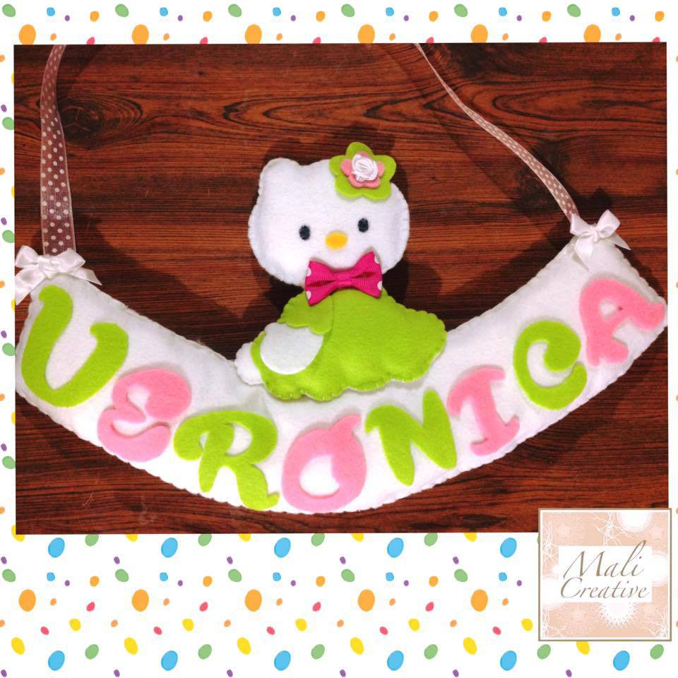 Fuoriporta tema Hello Kitty