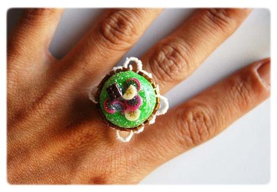 Green Sweet Ring