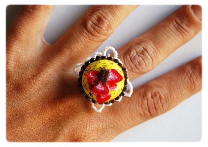 Yellow Sweet Ring