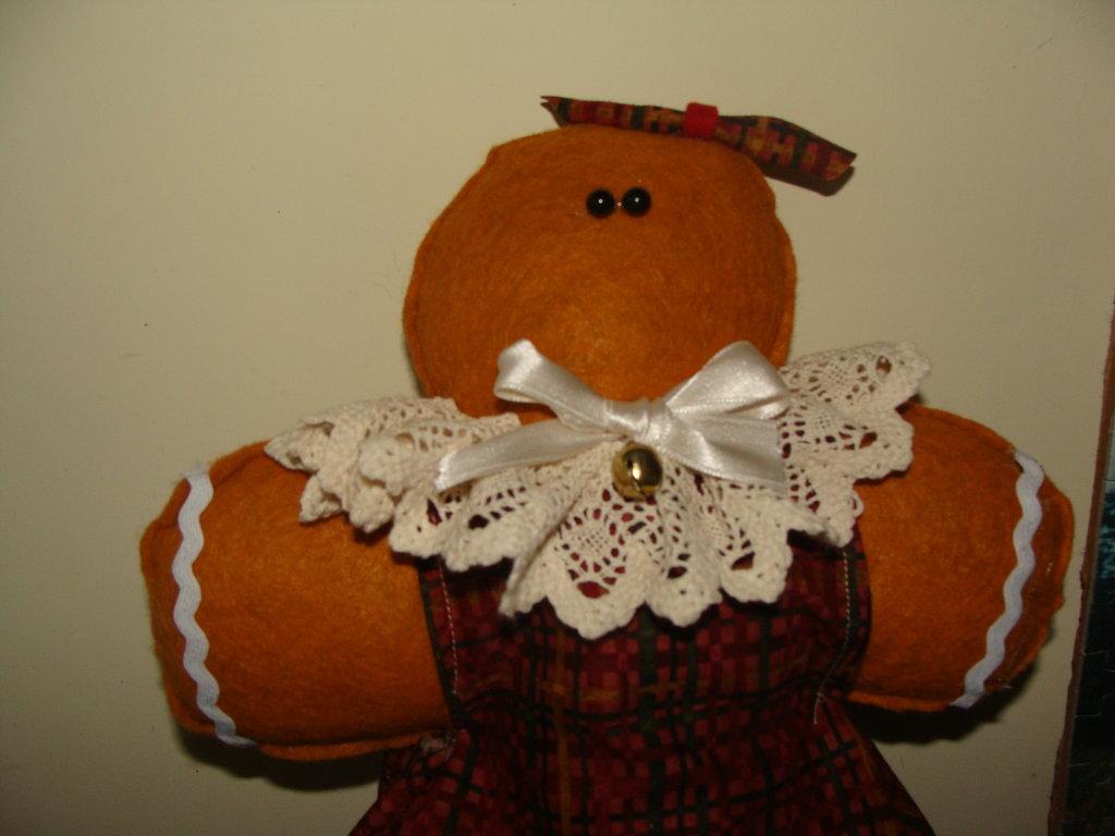 ginger bread copri barattolo