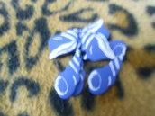 Conchiglie blu legno