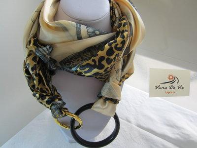 Collana foulard gioiello