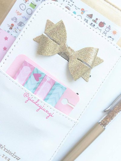 Paperpins lifeplanner-  fiocco oro