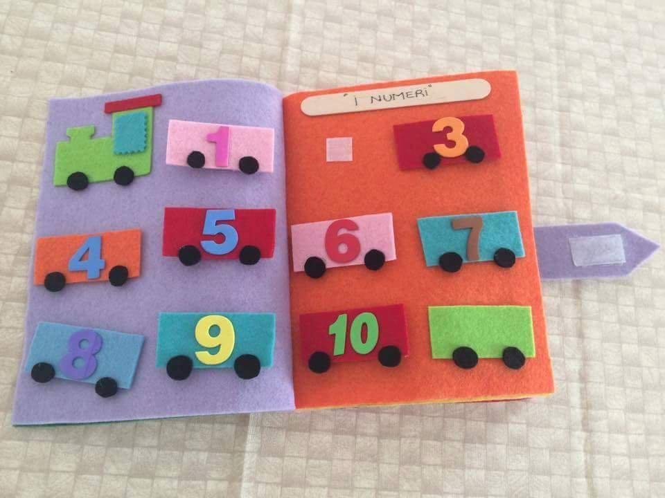 Quiet book - libro per bambini