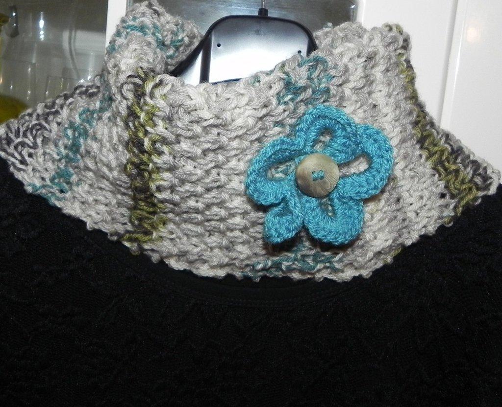 Sciarpa scaldacollo anello Natale idea regalo scarf infinity