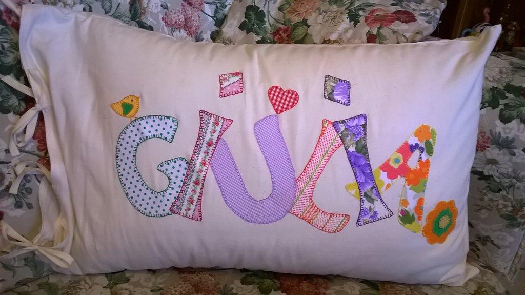 Federa per cuscino personalizzata