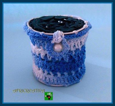 Bomboniera a crochet