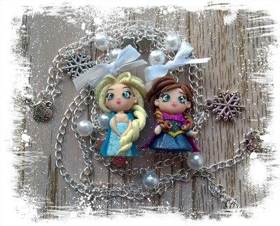 Collane con Anna ed Elsa (Frozen)