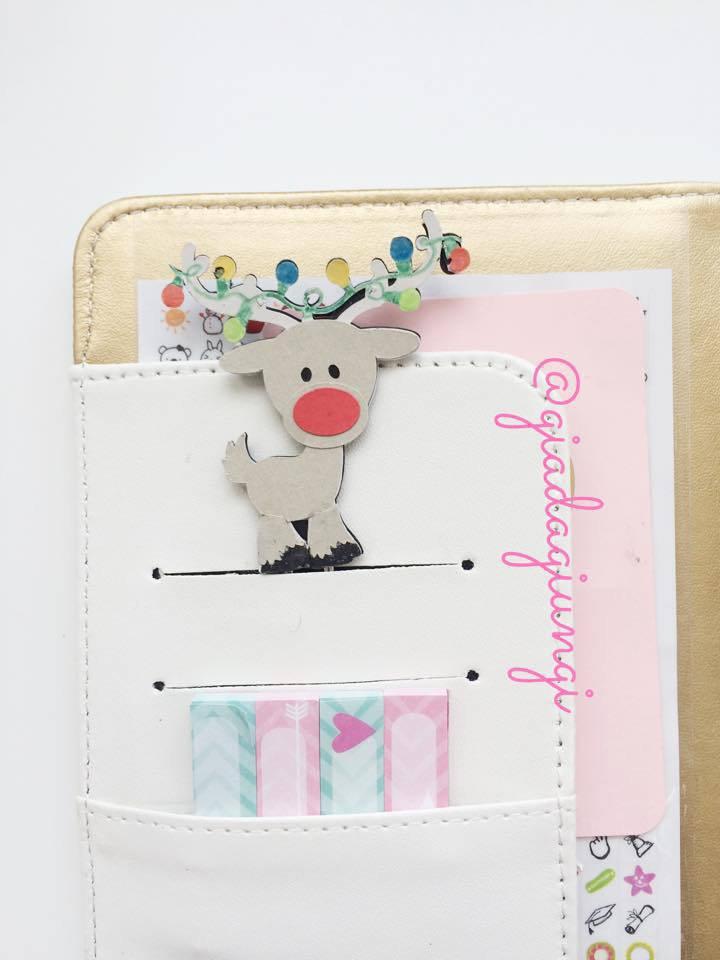 Paperpins lifeplanner-  renna luci