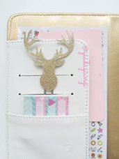 Paperpins lifeplanner-  Alce oro