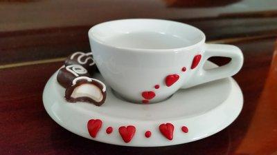 Tazzina caffè Dolci cuori