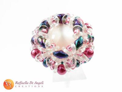 Anello cristallo superduo Dalia 08