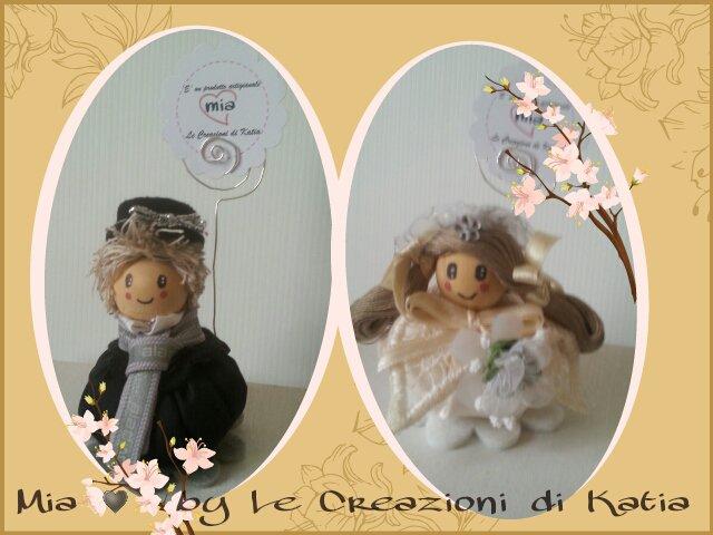 Segnaposto matrimonio - Bomboniera