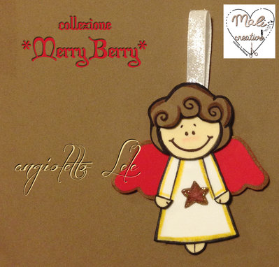 "Collezione ""Merry Berry"" Natale - Angioletto *Lele*"