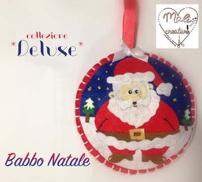 """Collezione """"Deluxe"""" Natale - *Babbo Natale*"""