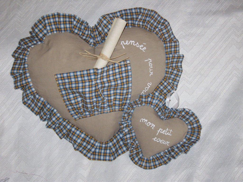 cuscini cuore