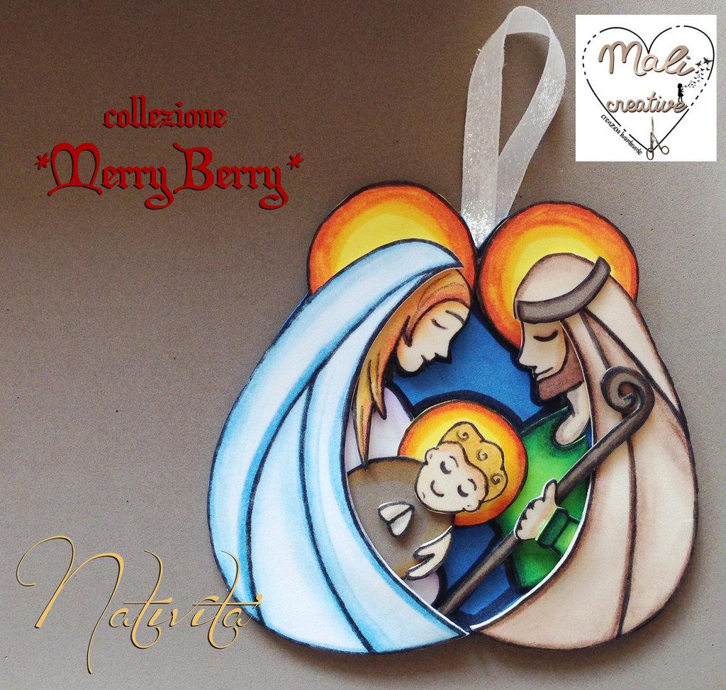 """Collezione """"Merry Berry"""" Natale - *Natività*"""