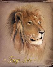 Cuscino con leone