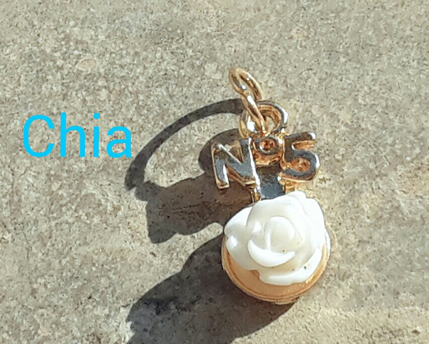 1 charm rosellina bianca