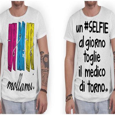 t-shirt personalizzata a tuo piacimento