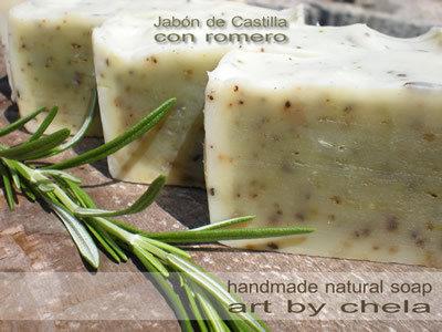 Jabón de Castilla con Romero