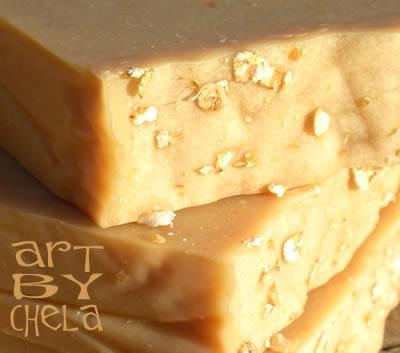 Avena + Miel de Romero - jabón natural proceso frío
