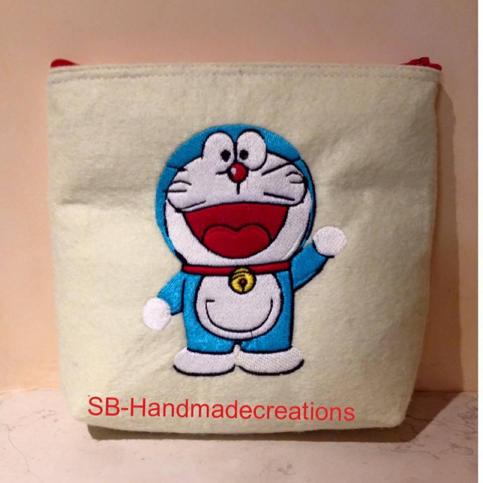 pochette portatrucchi Doraemon