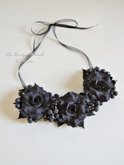 Collana di rose