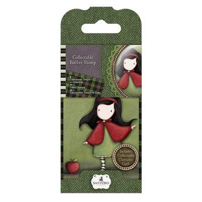 "Rubber Stamp - Gorjuss 14 ""Little Red"""
