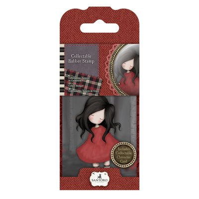 Rubber Stamp - Santoro - 18 Poppy Wood