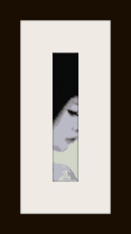 PDF schema bracciale Girl3 in stitch peyote pattern - solo per uso personale