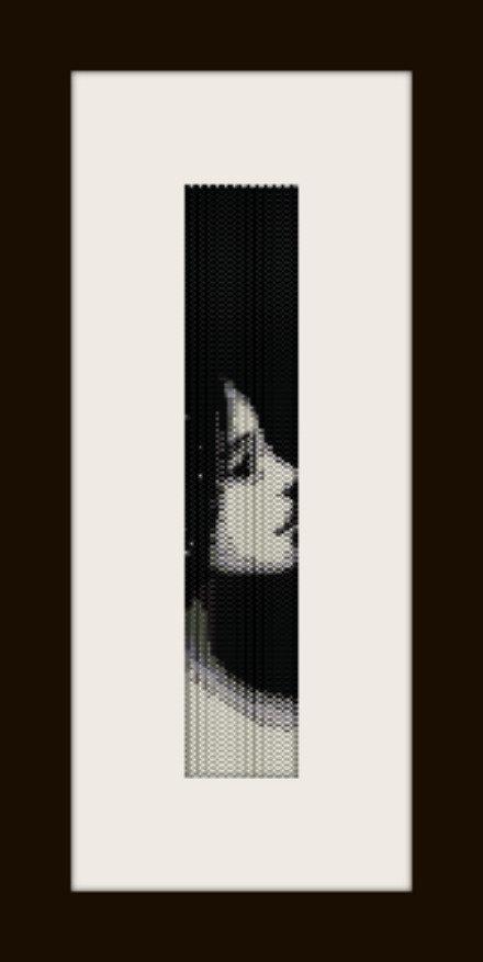 PDF schema bracciale Girl5 in stitch peyote pattern - solo per uso personale