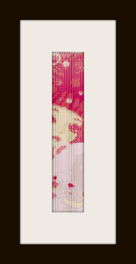 PDF schema bracciale Girl6 in stitch peyote pattern - solo per uso personale
