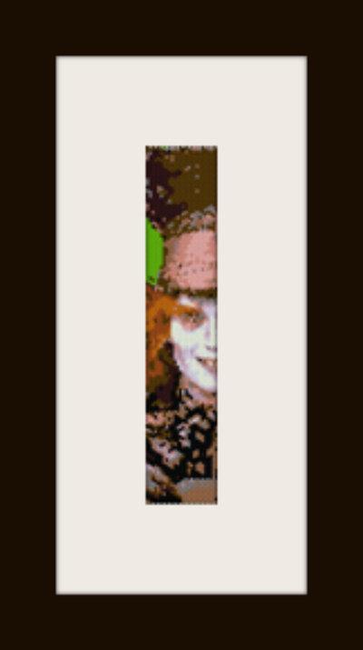 PDF schema bracciale Il Cappellaio in stitch peyote pattern - solo per uso personale