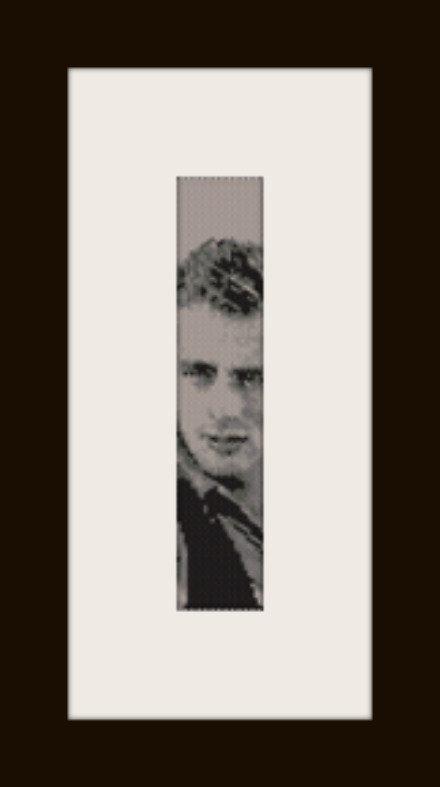 PDF schema bracciale James Dean in stitch peyote pattern - solo per uso personale