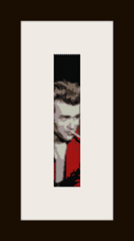 PDF schema bracciale James Dean1 in stitch peyote pattern - solo per uso personale