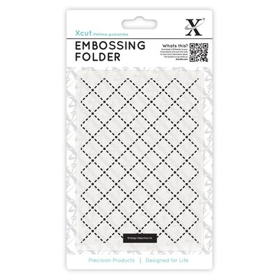 Fustella per embossing A6 - Quilting