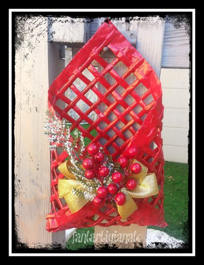 porta posta natalizio