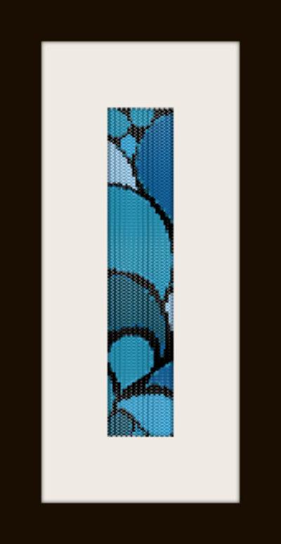 PDF schema bracciale Mare in stitch peyote pattern - solo per uso personale