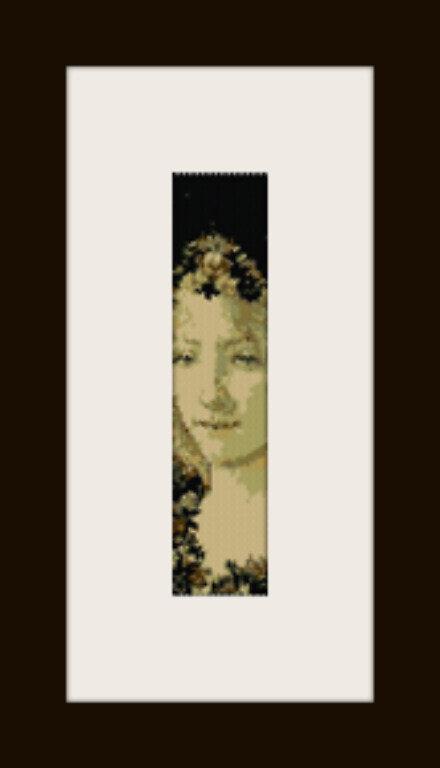 PDF schema bracciale La Primavera in stitch peyote pattern - solo per uso personale